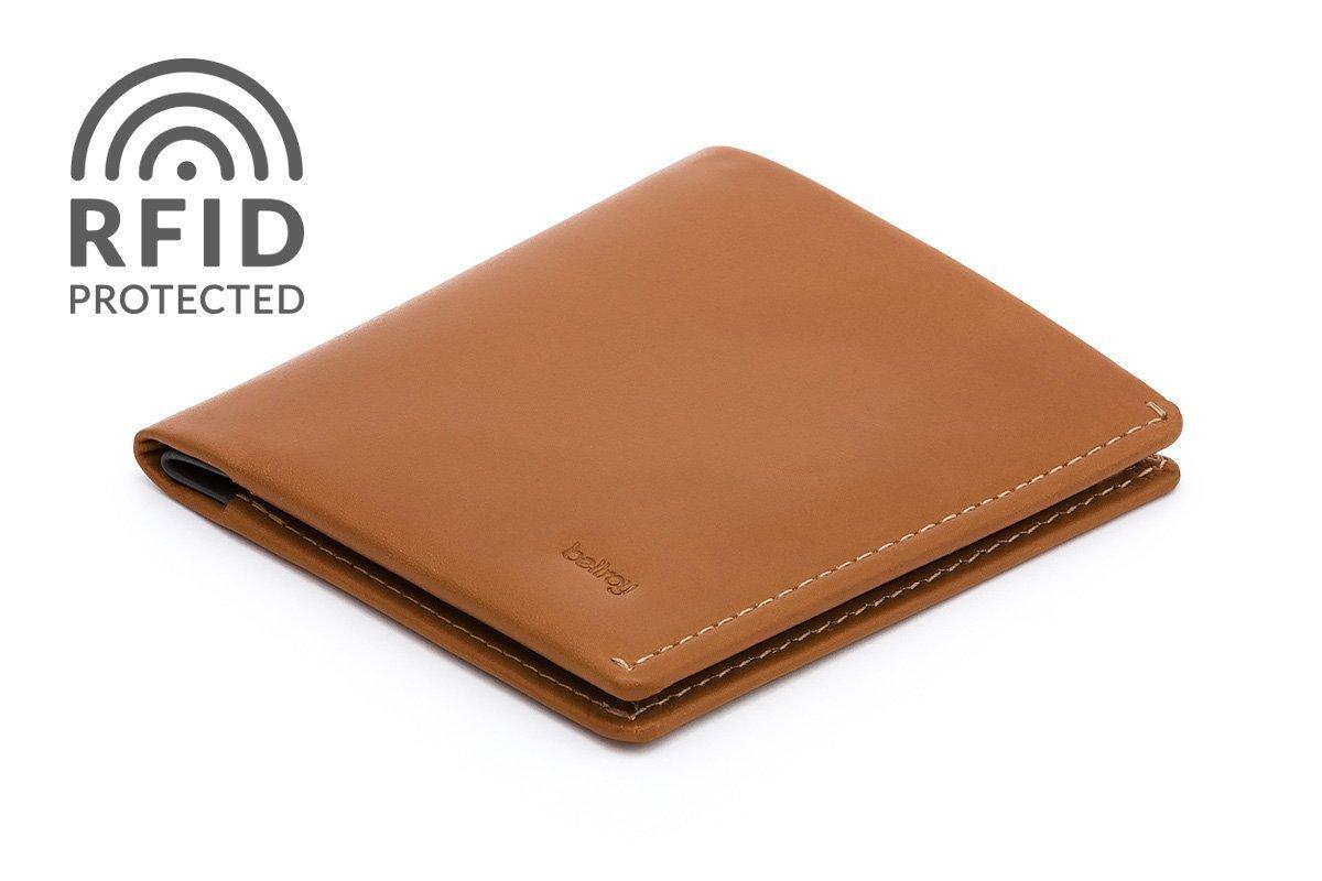 Cartera de piel Bellroy para hombre Note Sleeve Caramel RFID nuevo modelo