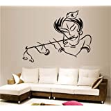 Decals Design StickersKart Wall Stickers Krishna Modern Art
