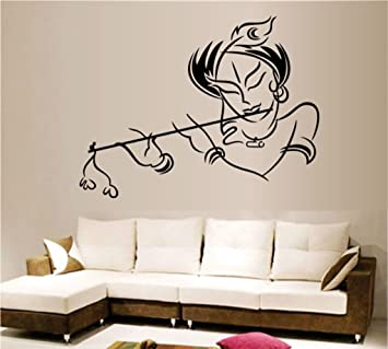 Decals Design U0027Krishnau0027 Wall Sticker (PVC Vinyl, ... Part 19