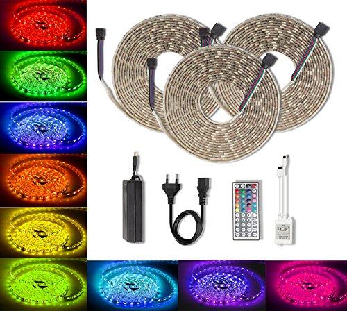 10M Multi Coloured Led Rope Lights - 4