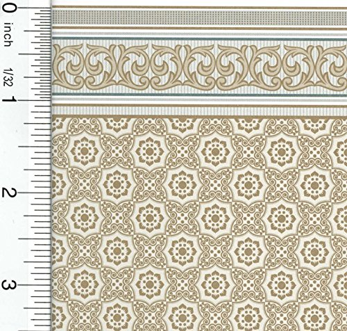 Dollhouse Wallpaper Victorian King's Ransom