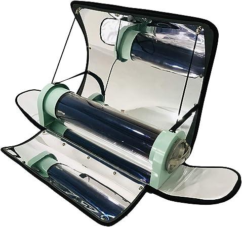 HUKOER Cocina Solar portátil Estufa Solar integrada al Aire Libre Parrilla Solar parabólica portátil con Mayor eficiencia Temperatura máxima 550 ° F ...
