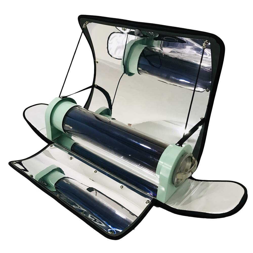 ETE ETMATE Outdoor Integrated Solar Cooker Portable Parabolic Solar Cooker with Higher Efficiency Maximum Temperature: 550°F (288°C)