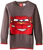 Disney Little Boys' Toddler Cars Boys Sweater, Grey, 2T