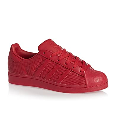 timeless design 5a66b 27f63 Adidas Originals Superstar Adicolor Mens Trainers S80328 Sneakers Shoes (US  9.5, scarlet red S80326
