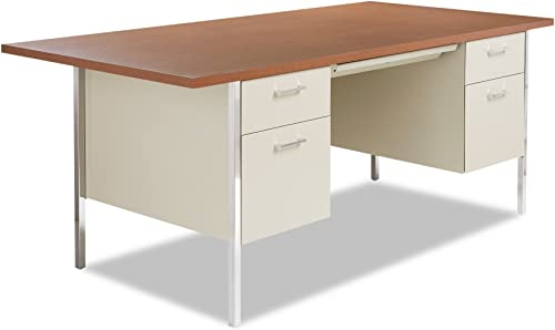 Alera ALE Double Pedestal Steel Desk