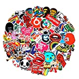 SuprCool 2018 Latest Style 200Pack Stickers Set Random Sticker Decals For Water Bottle Laptop Cellphone Skateboard Bicycle Motorcycle Car Bumper Luggage Travel Case. Etc (200pcs)