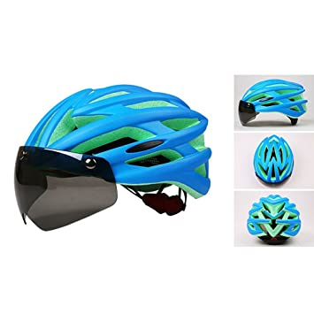 Casco de ciclismo magnético Casco de seguridad Ciclismo de carretera ajustable Ciclismo de montaña Casco de