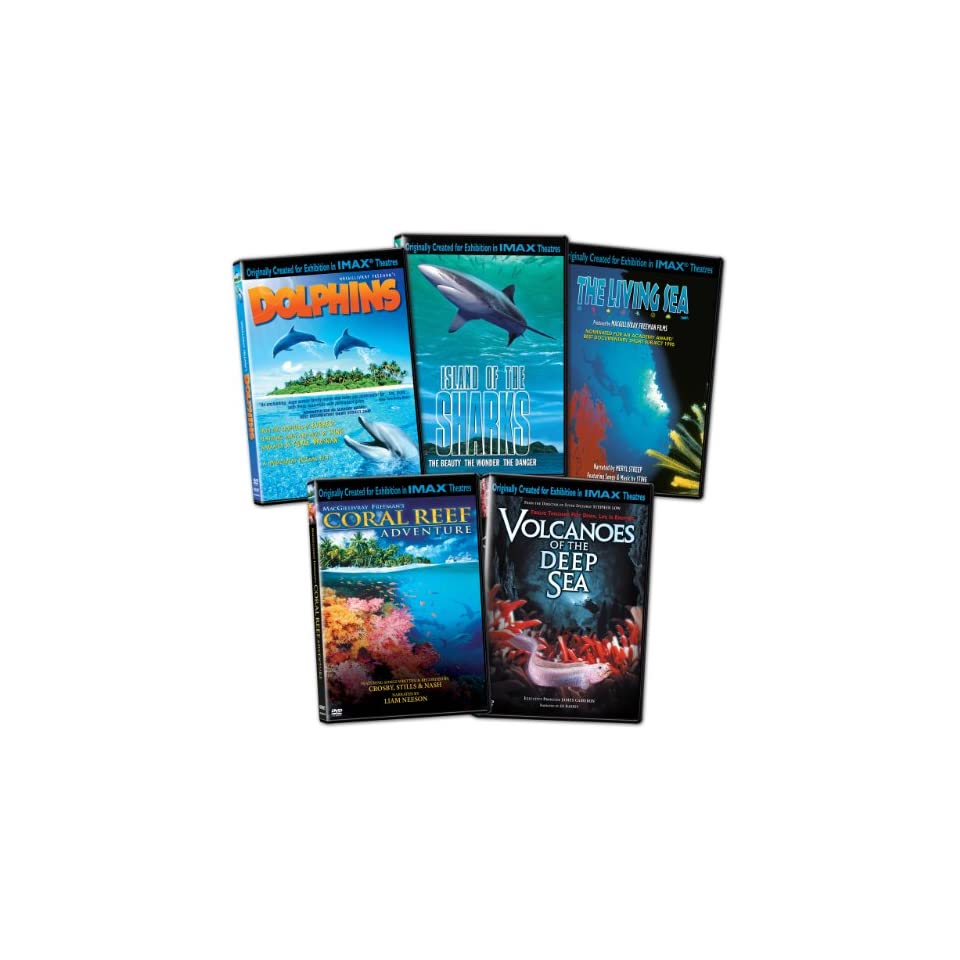 Reef Adventure/Volcanoes of the Deep Sea/Dolphins/Island of the Sharks