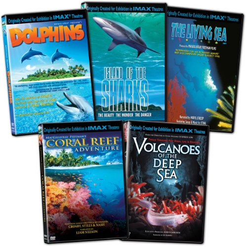 IMAX: Oceans Collection (The Living Sea/Coral Reef Adventure/Volcanoes of the Deep Sea/Dolphins/Island of the Sharks)