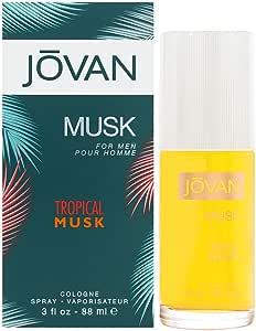 Jovan Tropical Musk For Men by Jovan Cologne Spray 88ml
