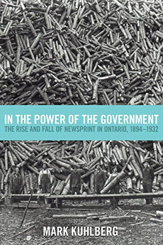 In the Power of the Government: The Rise and Fall of Newsprint in Ontario, 1894-1932 by Mark Kuhlberg - Shopping Online Ontario