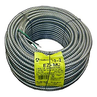 Bx cable 12 2 my furnitureore southwire 68580001 250 foot 12 gauge 2 conductor type mc conduit aluminum keyboard keysfo Image collections