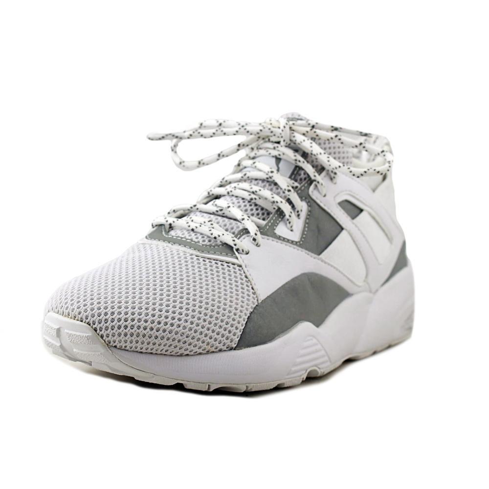 PUMA Men's B.O.G Sock WHT Reflective Cross-Trainer Shoe B01J58AR6E 8 M US|Glacier Gray/Puma White