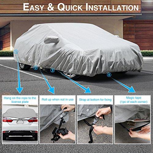 Outdoor Car Cover Waterproof Rain UV For MITSUBISHI 3000GT
