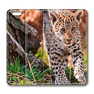 iPhone 6 Plus Case, Fashion Protective PU Leather Flip Case [Stand Feature] Cover Jaguar Cub Karlova Ves Bratislava Bratislavsky Sk for New Apple iPhone 6(5.5 inch) Plus