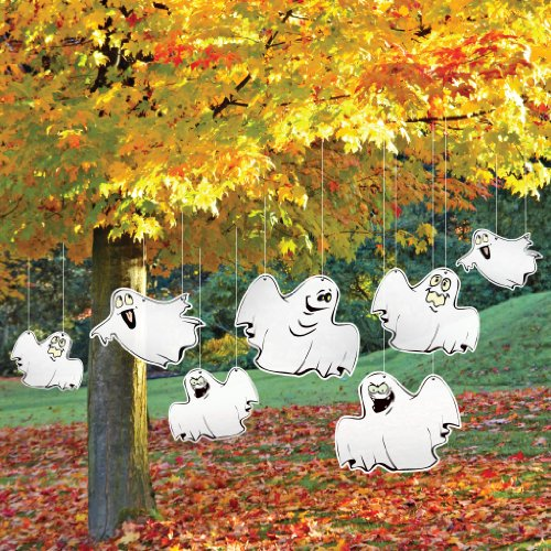 VictoryStore Yard Sign Outdoor Lawn Decorations - Halloween Yard Decoration Funny Ghosts ()