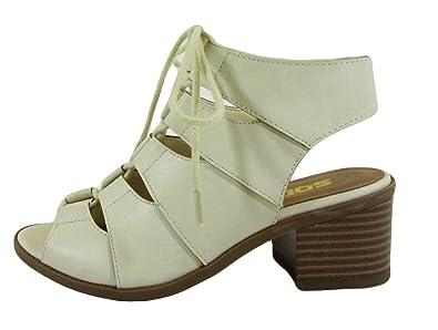 1ba9f28edc9f Soda Lace Up Girls Heeled Sandals