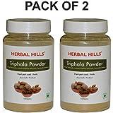 Herbal Hills Triphala Powder - 100g Each Bottle (Pack of 2)