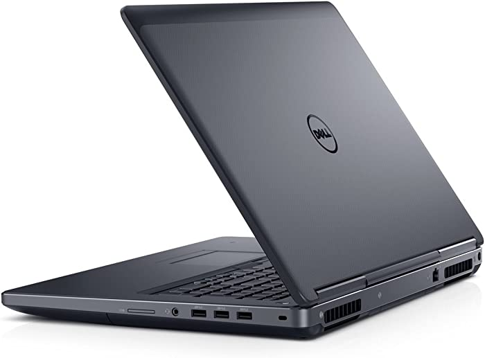 Dell Precision M7710 Intel Core i7-6820HQ X4 2.7GHz 16GB 512GB SSD, Black (Renewed)