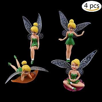 Amazon De Yixuan Feen Figuren Verschiedene Miniatur Figurchen