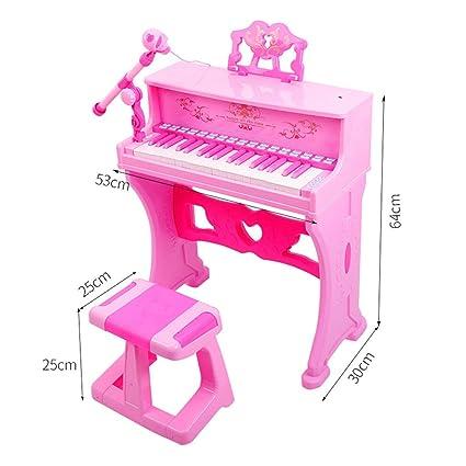 LIPENG-TOY Teclado para niños Piano Principiante 3-6-12 años Juguete multifunción