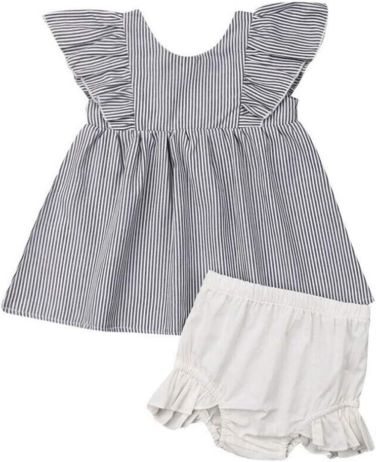 2pc Kids Girls Long Sleeves Floral Print Princess Dress+Cartoon Shoulder Bag Set