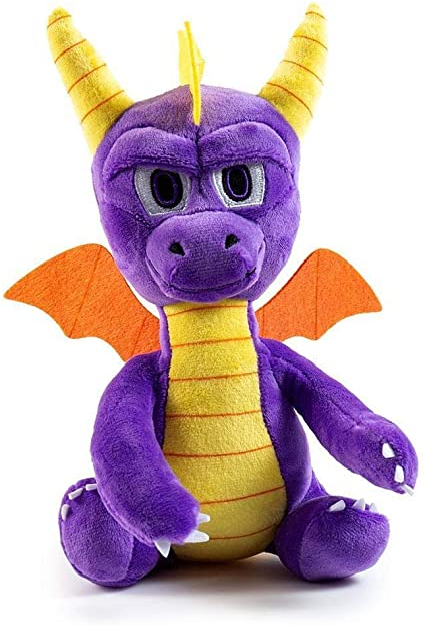 Kidrobot Spyro The Dragon Phunny 8 Inch Plush Figure NEW Toys Plushies
