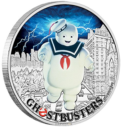 2017 TV Ghostbusters Stay Puft 1 oz. Coin - Third coin in the series - With all Original Packaging $2 Brilliant...