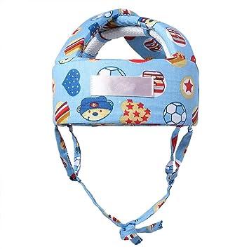 Kleinkind Plüsch Schutzhelm Kopfschutz Hut  für Kinder von 1 bis 5 Jahre