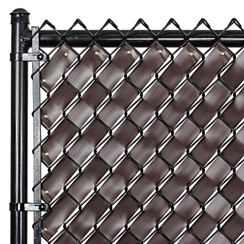 Chain Link Fence Weave Chocolate Brown New Ebay