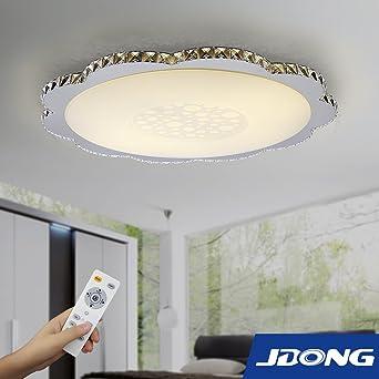 JDONG Einzigartige LED Kristall Deckenleuchte Deckenlampe Design ...