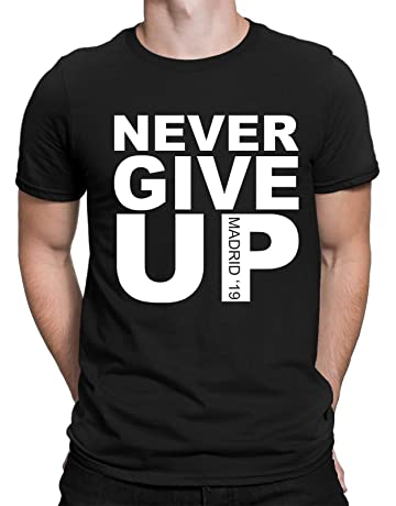 ce6c373885c FC Liga Liverpool Football T-Shirt - Never Give Up Madrid 19 - Choice of