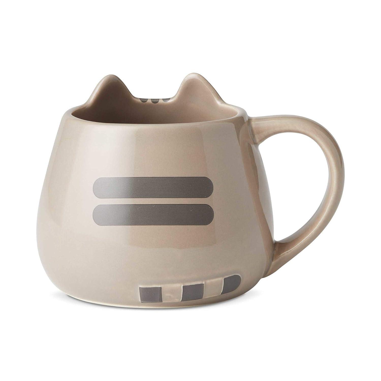 "16 oz Enesco 6002676 Name is Mud /""Pusheen Sculpted Mug Multicolor"