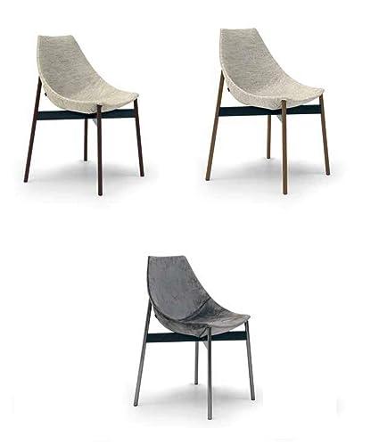Brilliant Amazon Com Gamma Modern Side Chair In Hard Polyurethane Bralicious Painted Fabric Chair Ideas Braliciousco