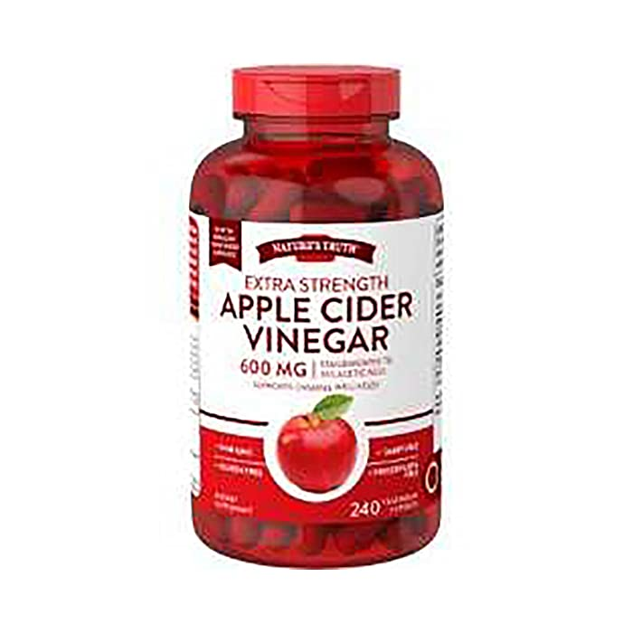 Nature's Truth Apple Cider Vinegar 240 ct. (pack of 4) A1