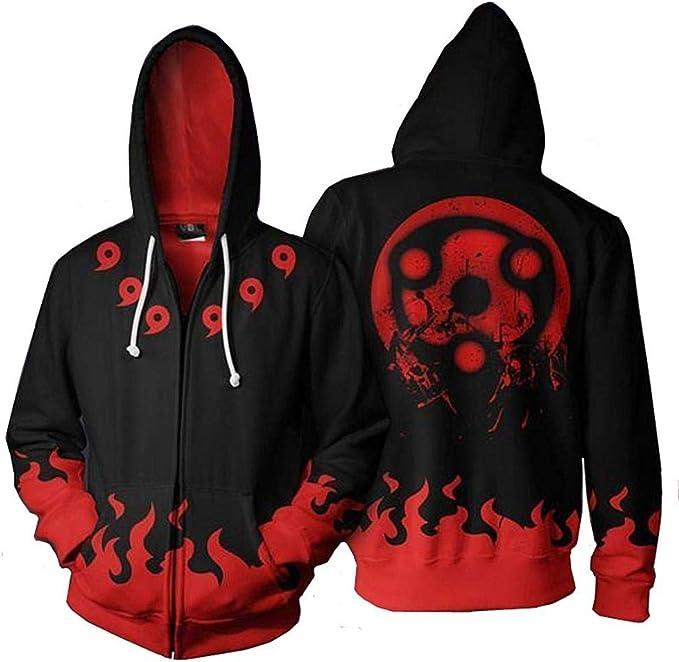 Naruto Anime Kapuzen Sweatshirt Hoodie pullover Pulli jacket jacke Verdickt