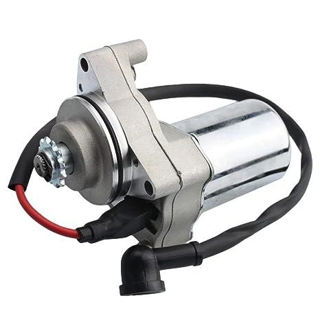 Amazon com: Chanoc Electric Motor Starter for 50cc 70cc 90cc 110cc