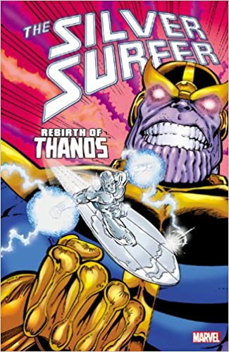 Silver surfer y thanos