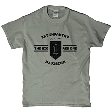 b350491a Amazon.com: Army 1st Infantry Division Big Red One T Shirt: Clothing