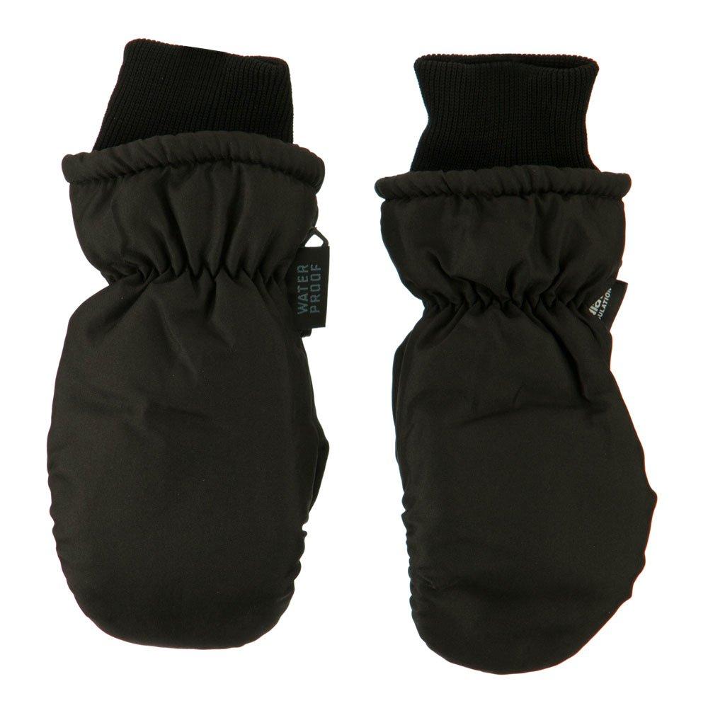Black Girls Waterproof Fleece Mitten