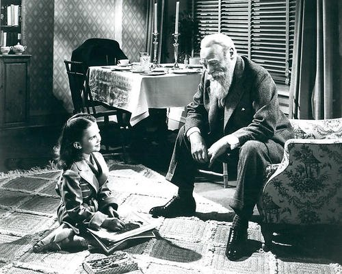 Miracle on 34th Street Featuring Edmund Gwenn, Natalie Wood 11x14 Promotional Photograph