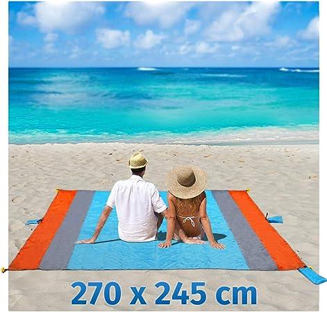 Playa Manta Arena Libre XXL 270 x 245 cm Picnic Camping – Manta ...