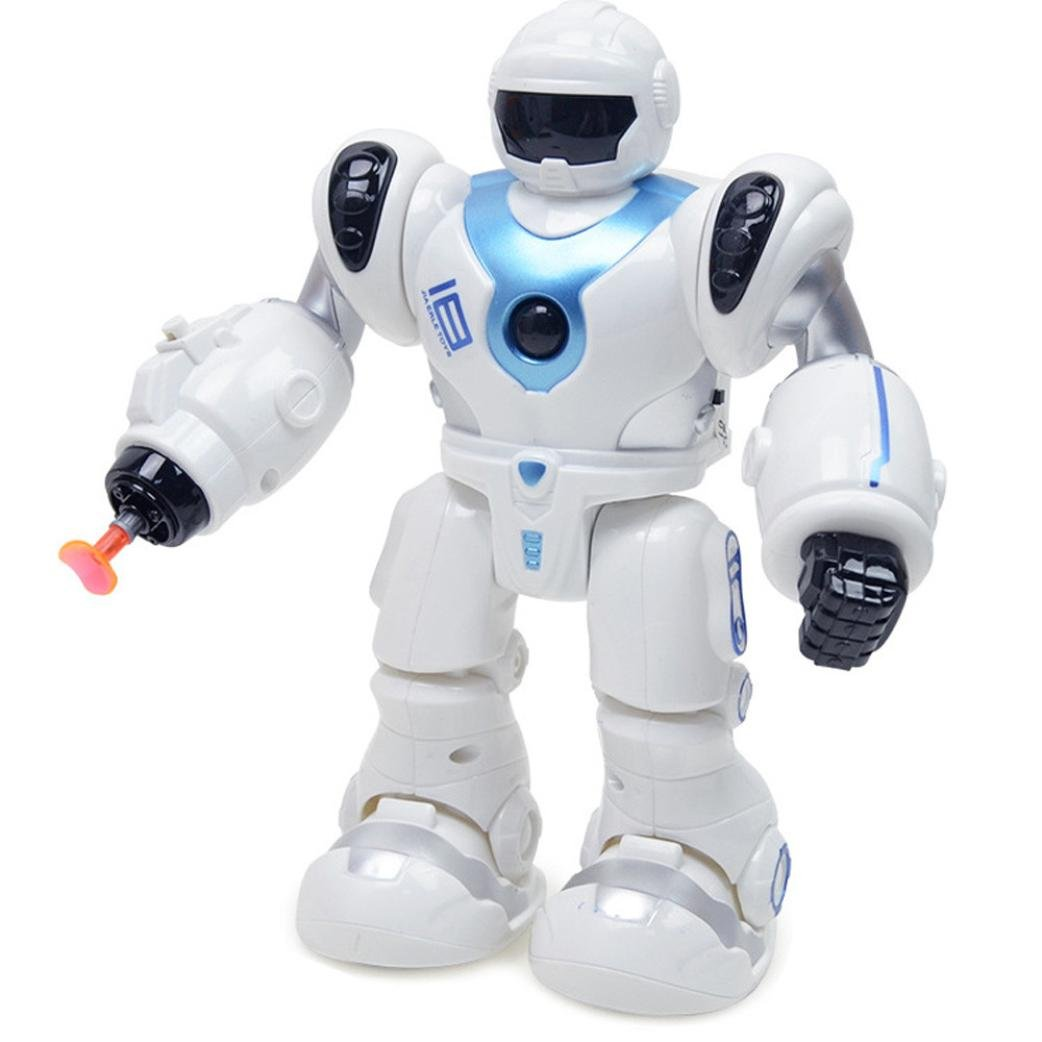 Dancing Robot With Light And Music Toys,Mamum Electronic Walk Smart Space Robot Astronaut Kids Fighting Light Toys