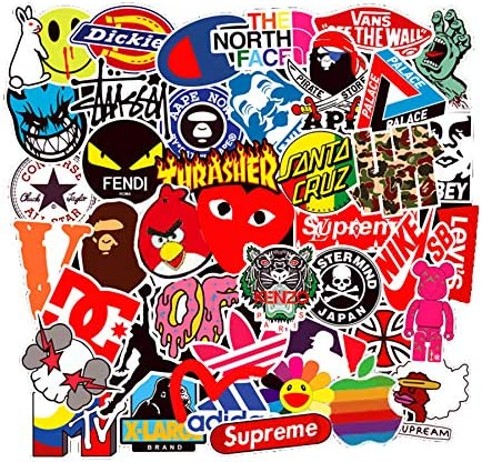 Stickers Motorcycle Skateboard Graffiti No Duplicate product image