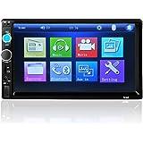 """Car Audio, bobogo 7""""HD Bluetooth Touch Screen Car Stereo Radio 2Din FM/MP5/MP3/USB/AUX"""