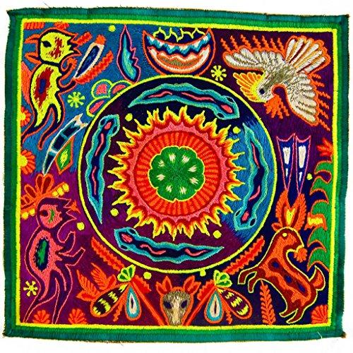 ImZauberwald Huichol Elements UV Patch 8 Inch Indigene Artwork