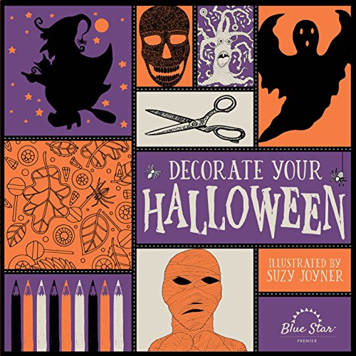 Decorate Your Halloween: An Adult Coloring Book of Halloween -