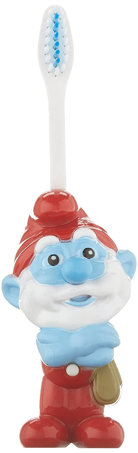 Ashtel Dental SM 00353 24 Smurf Talking Papa Smurf Kids Toothbrush