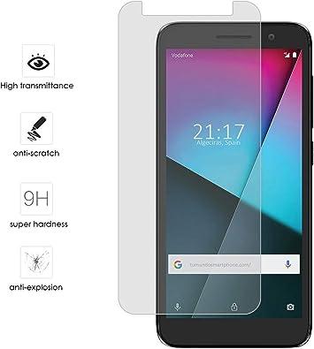 Protector Cristal Templado para Vodafone Smart E9 Vidrio: Amazon ...